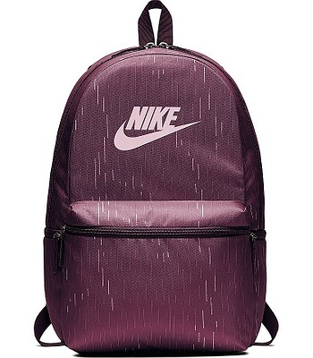 9d9a94b8e5b52 backpack Nike Heritage AOP - 609/Bordeaux/Bordeaux/Pink Foam -  snowboard-online.eu