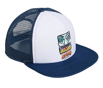 3d0e8300f2244 ŠILTOVKA ADIDAS ORIGINALS BB83 TRUCKER - WHITE/LEGEND MARINE - skate ...