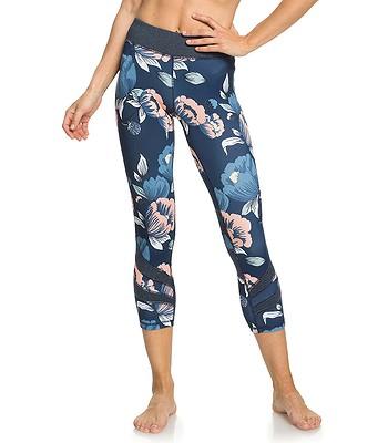 6a58e5c427cf legíny Roxy Explosive Feeling Capri - XBBM Dress Blues Full Flowers Fit