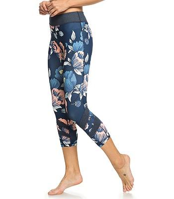 6773adbe612 legíny Roxy Explosive Feeling Capri - XBBM Dress Blues Full Flowers Fit -  snowboard-online.sk
