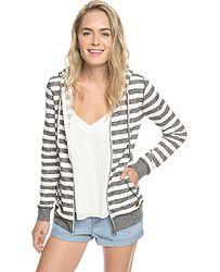 mikina Roxy Trippin Stripes Zip - XWSS Marshmallow 2x2 Stripe ac226f536dc