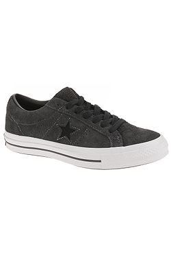 topánky Converse One Star OX - 163247 Almost Black Black White. Na sklade 897d786bef6