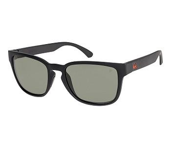 brýle Quiksilver Rekiem Polarized Floatable - XKGG/Matte Black/Green Polarized