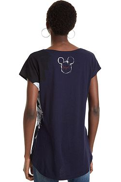 fa53188ff3d ... T-Shirt Desigual 19SWTKCZ Mickey - 5000 Navy - women´s