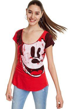 tričko Desigual 19SWTKCZ Mickey - 3061 Rojo Roja ... fe66d615b07