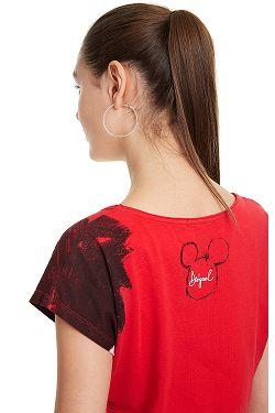 ... tričko Desigual 19SWTKCZ Mickey - 3061 Rojo Roja 7b9140c127b