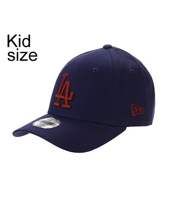 dětská kšiltovka New Era 9FO League Essential MLB Los Angeles Dodgers Child  - Dark Royal Hot Red b7ce999e42