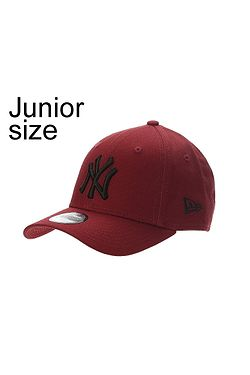 dětská kšiltovka New Era 9FO League Essential MLB New York Yankees Youth -  Hot Red  ... ebeb10e410