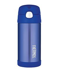termoska Thermos Funtainer Straw 355 - 120012 All Blue bd2aa38ab35