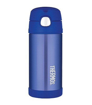 termoska Thermos Funtainer Straw 355 - 120012 All Blue - snowboard ... d708f690f88