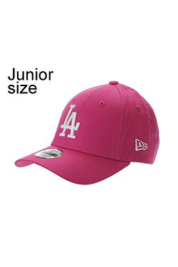 2f5e1d5f6 dětská kšiltovka New Era 9FO League Essential MLB Los Angeles Dodgers Youth  - Bright Pink/
