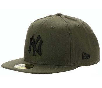 kšiltovka New Era 59F League Essential MLB New York Yankees - New Olive/Black