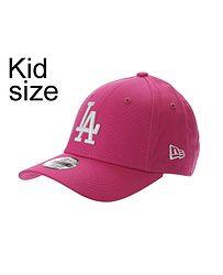 dětská kšiltovka New Era 9FO League Essential MLB Los Angeles Dodgers Child  - Bright Pink  932be98f97
