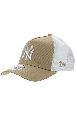 cap New Era 9FO AF League Ess.Trucker MLB New York Yankees - Camel/White - men´s