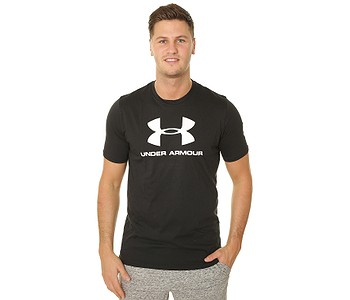 tričko Under Armour Sportstyle Logo - 001/Black