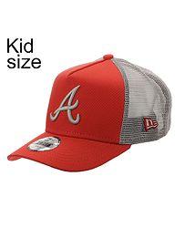 dětská kšiltovka New Era 9FO AF League Ess.Trucker MLB Atlanta Braves Child  - Hot 9170a1cfb5