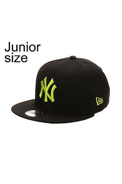 cap New Era 9FI League Essential MLB New York Yankees Youth - Black Cyber  Green ... abe625c8ebbe