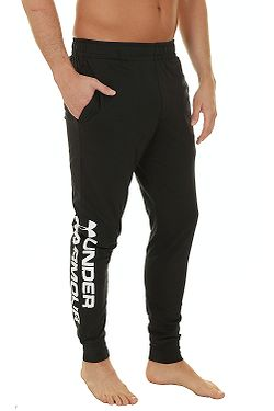 tepláky Under Armour Sportystyle Cotton Graphic Jogger - 001 Black 80df3e0bcd