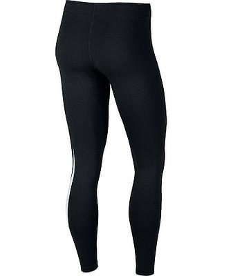 legíny Nike Sportswear Legasee Swoosh Leggings - 011 Black White -  snowboard-online.sk d4e1a0365b
