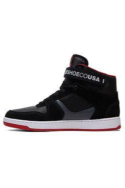 aed0dbed4e ... boty DC Pensford - BDA Black Dark Gray Athletic Red