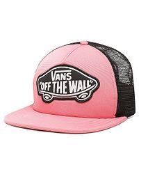 kšiltovka Vans Beach Girl Trucker - Strawberry Pink bb714c2056