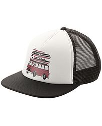 853f2bbef69 kšiltovka Vans Fulton Trucker - White Black
