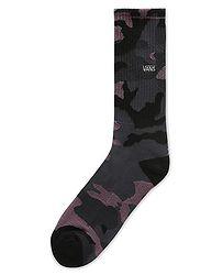 a624ddadc3a ponožky Vans Black Plum Camo Crew - Black Plum