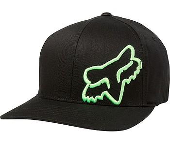 kšiltovka Fox Flex 45 Flexfit - Black/Green