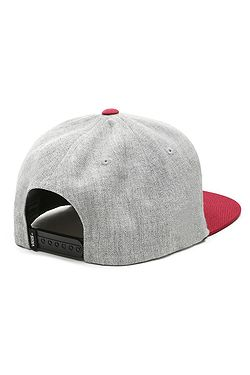 ... kšiltovka Vans Classic Patch Snapback - Heather Gray Rhumba Red f945783bc7