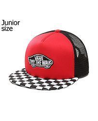 detská šiltovka Vans Classic Patch Plus Trucker Youth - Racing Red 6777e1a35eb