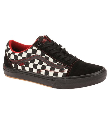 topánky Vans Old Skool Pro BMX - Kevin Peraza Black Checkerboard ... 31ee384a8b7