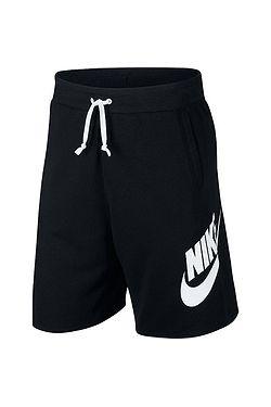 1d89d95beb5 kraťasy Nike Sportswear He Short FT Alumni - 010 Black Black White  ...