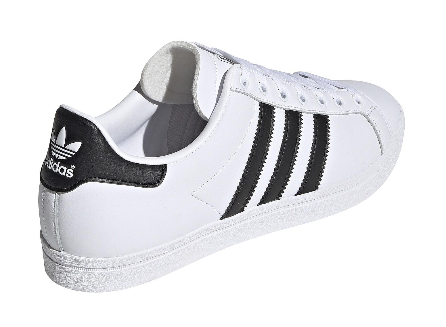 shoes adidas Originals Coast Star WhiteCore BlackWhite