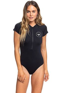 2d321de442b plavky Roxy Essentials Cs Onesie Zipped - KVJ0 True Black