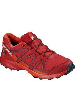 584f32907ff dětské boty Salomon Speedcross CSWP - High Risk Red Cherry Tomato Navy  Blazer ...