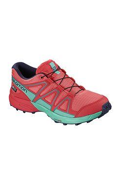 d217766d2ff dětské boty Salomon Speedcross CSWP - Dubarry Hibiscus Atlantis