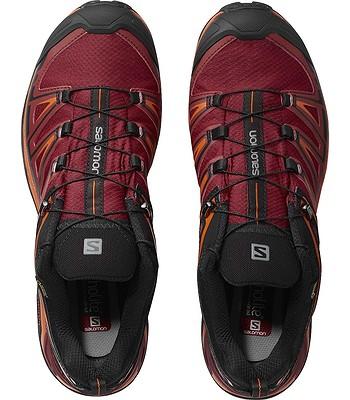 e52a9c2222a boty Salomon X Ultra 3 GTX - Black Red Dalhia Scarlet Ibis ...