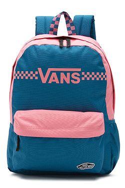91ea09a1a4 batoh Vans Good Sport Realm - Sapphire Blue Fun Times ...