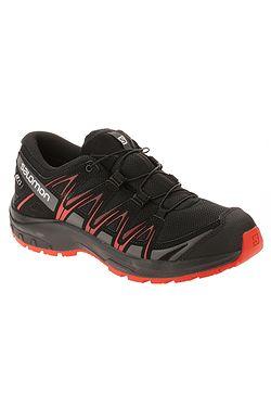 dětské boty Salomon XA Pro 3D CSWP - Black Black High Risk Red ... 8ce1f70498