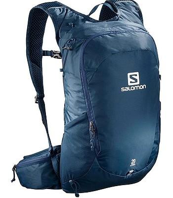 717196dcfeb batoh Salomon Trailblazer 20 - Poseidon Ebony
