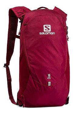 3f584389e3 batoh Salomon Trailblazer 10 - Biking Red Ebony