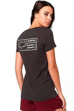 6649dd3c1d2 ... tričko Fox Tracker V Neck - Black Vintage
