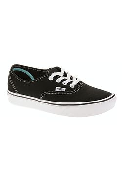 2d5b0f4dfc boty Vans ComfyCush Authentic - Classic Black True White ...