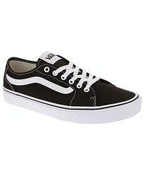 topánky Vans Filmore Decon - Canvas Black White 37c71f5196