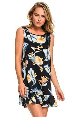šaty Roxy All About The Sea - KVJ7 Anthracite Tropical Love Sw 91db1f921a
