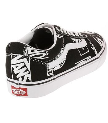 91c66857a1e7 shoes Vans Ward - Logo Mix Black White - men´s - blackcomb-shop.eu