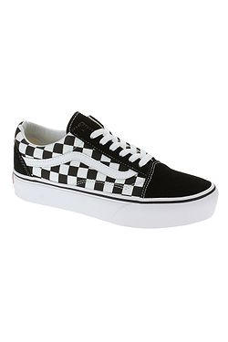 boty Vans Old Skool Platform - Checkerboard/Black/True White