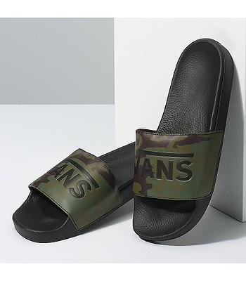 8ad5a00a1d topánky Vans Slide-On - Camo Black Green. Na sklade