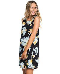 343c490853f5 šaty Roxy Harlem Vibes - KVJ6 Anthracite Tropical Love