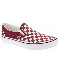 boty Vans Classic Slip-On - Checkerboard Rumba Red True White 9a58304afc